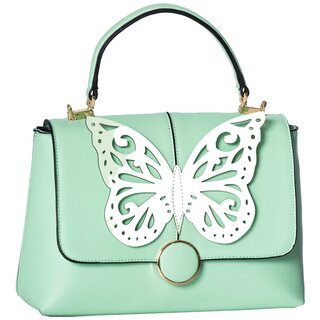 Dancing Days Handbag - Papilio Mint Green