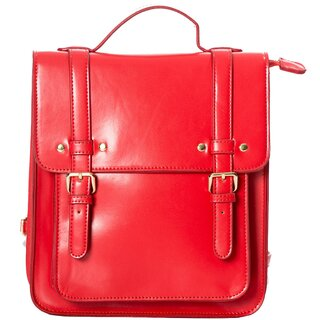 Dancing Days Backpack / Shoulder Bag - Cohen Red