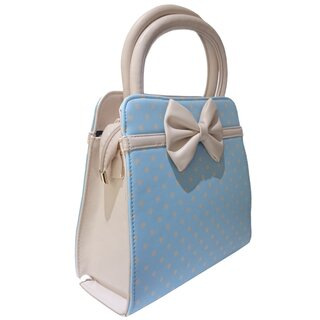 Dancing Days Handbag - Carla Baby Blue