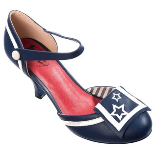 Dancing Days Pumps - Beaufort Spice Navy Blue