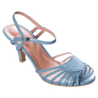 Dancing Days Strapped Heels - Amelia Baby Blue