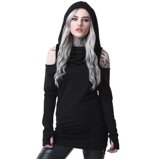 Killstar Hooded Top- Bibliomancy Hoodie