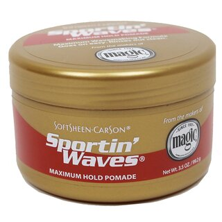 Sportin Waves Pomade - Gold Maximum Hold