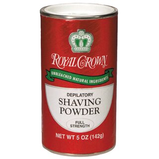 Royal Crown Shaving Powder - Full Strength