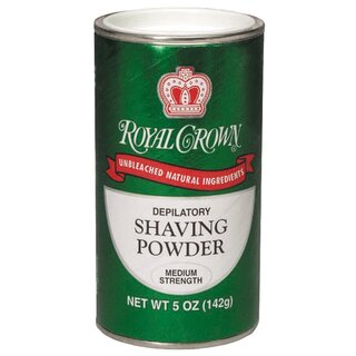 Royal Crown Rasierpuder - Shaving Powder Medium Strength