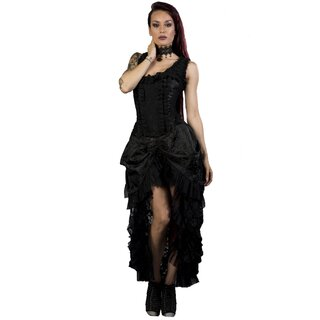 Burleska Corset Dress - Versailles King Lace Black