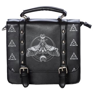 Banned Shoulder Bag - Moth Satchel