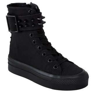 Killstar High Top Sneakers - Unholy Canvas