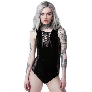 Killstar Bodysuit - Saya Lace-delic