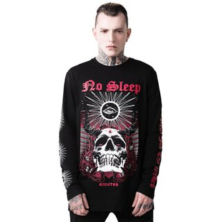 Killstar Langarm T-Shirt - No Sleep