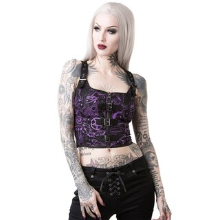 Killstar Crop Top - Miss Morbid Hold Tight