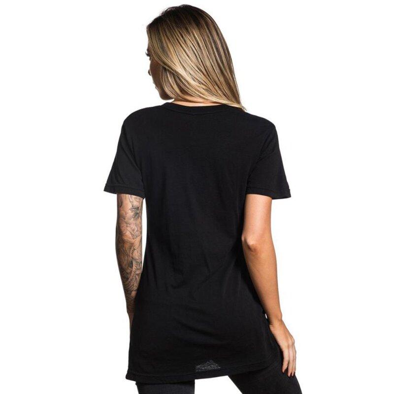sullen clothing damen t shirt badge of honor harbor schwarz m eur. Black Bedroom Furniture Sets. Home Design Ideas