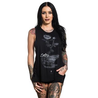 Sullen Clothing Lace-Up Tank Top - Fallen Crow