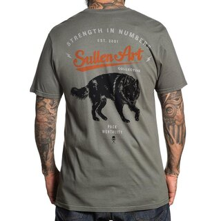 Sullen Clothing T-Shirt - Blaq Wolf