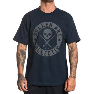Sullen Clothing T-Shirt - Everyday Badge Dunkelblau