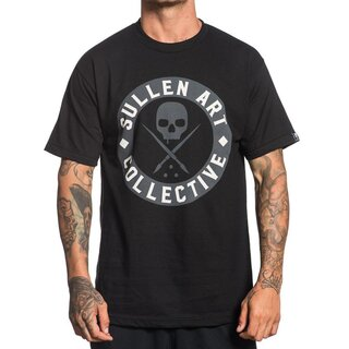 Sullen Clothing T-Shirt - Everyday Badge Schwarz
