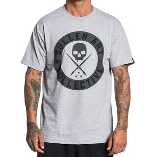 Sullen Clothing T-Shirt - Everyday Badge Hellgrau