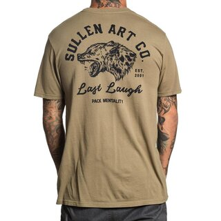 Sullen Clothing T-Shirt - Last Laugh Oliv
