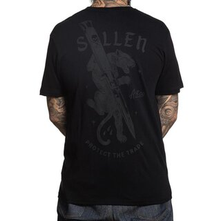 Sullen Clothing T-Shirt - Cut Off Schwarz
