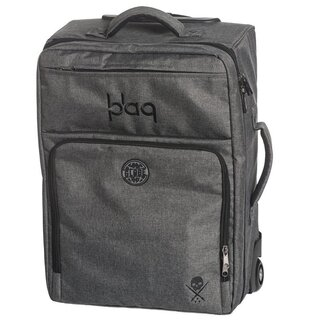 Sullen Clothing Suitcase - Blaq Paq Traveler Globe Edition