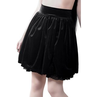 Killstar Flared Skirt - Juliet Velvet