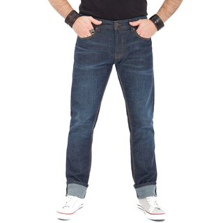 King Kerosin Jeans Trousers - Robin Dark Blue