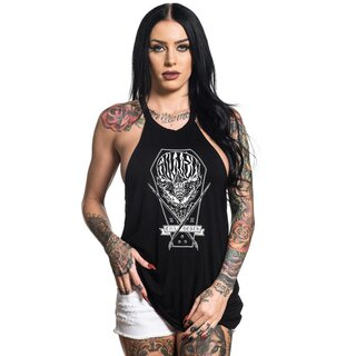 Sullen Clothing Ladies Tank Top - Coffin Skull