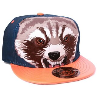 Guardians Of The Galaxy Snapback Cap - Rocket Raccoon