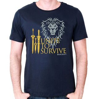 World of Warcraft T-Shirt - Unite To Survive