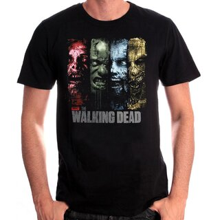 The Walking Dead T-Shirt - 4 Walkers