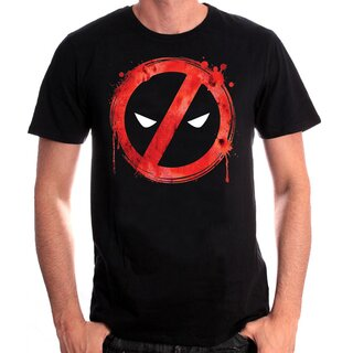 Deadpool T-Shirt - Forbidden Splash Head
