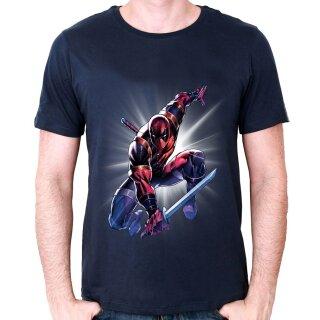 75af3ffa718b86 Deadpool T-Shirt - Attack Saber