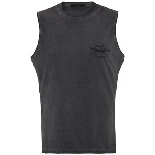 King Kerosin Tank Top - Thunder Anthracite