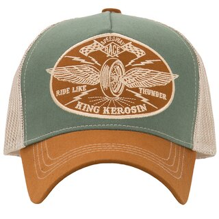 King Kerosin Trucker Cap - Ride Like Thunder