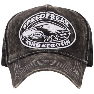 King Kerosin Trucker Cap - Speedfreak Black