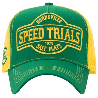 King Kerosin Trucker Cap - Speed Trials Yellow