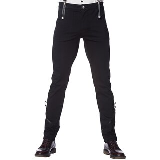 Banned Vintage Trousers with Suspenders - Winston