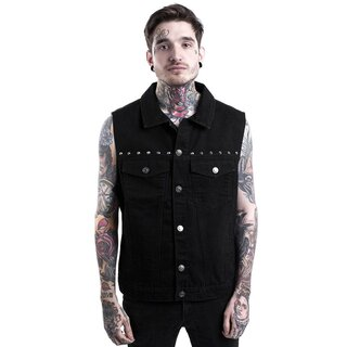 Killstar Denim Vest - Hellcore