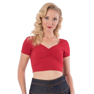 Steady Clothing Crop Top - Isabelle Red