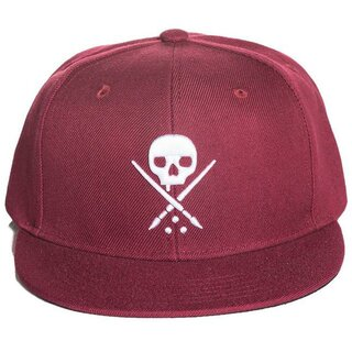 Sullen Clothing Snapback Cap - Tradition Burgundy