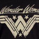 Wonder Woman Ladies T-Shirt - Grunge Logo