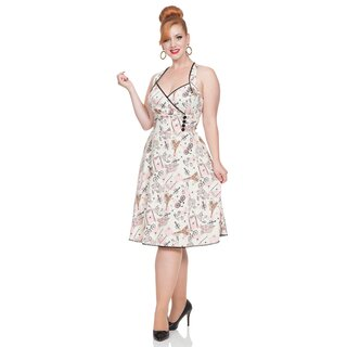 Voodoo Vixen Vintage Dress - Claudine Parisienne