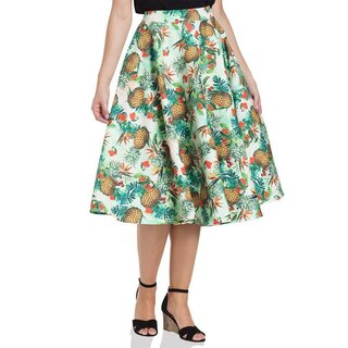 Voodoo Vixen Circle Skirt - Sammy Tropical
