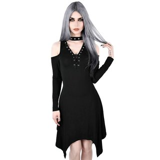 Killstar Skater Dress - Onyx Fall-Deep
