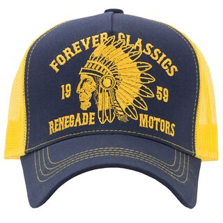 King Kerosin Trucker Cap - Forever Classics Yellow