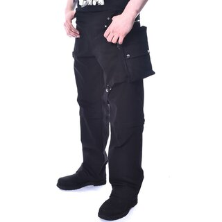 Chemical Black Denim Trousers - Marcus