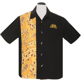 Sun Records by Steady Clothing Vintage Bowling Shirt -...