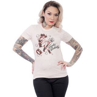 Steady Clothing Ladies T-Shirt - Bottle Rocket Cream