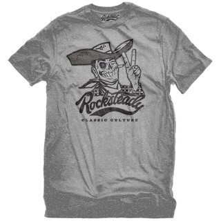 Steady Clothing T-Shirt - Howdy Grau