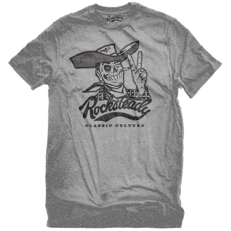 Steady Clothing T-Shirt - Howdy Grau XL